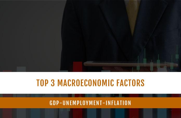 Top 3 Macroeconomic Factors: GDP-Unemployment-Inflation
